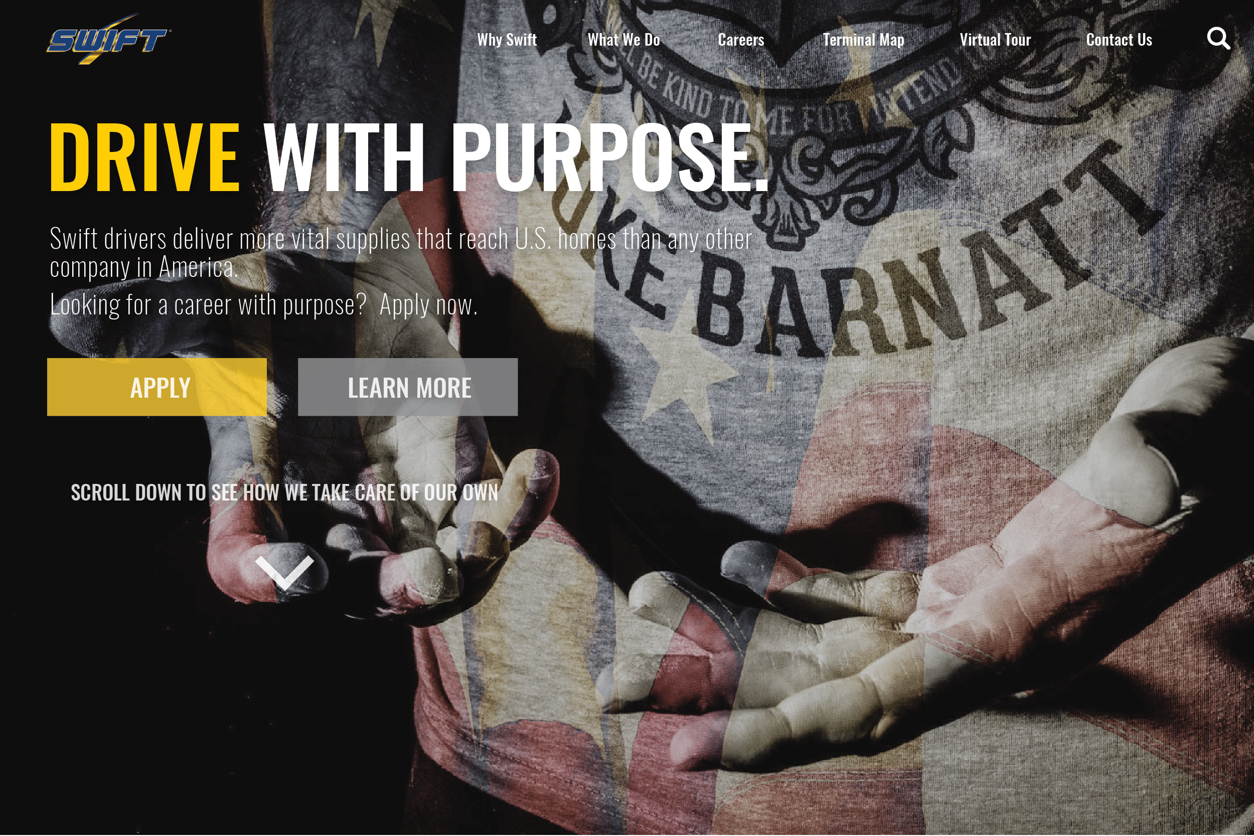 Landing Page - Purpose - Drive with Purpose 1-03