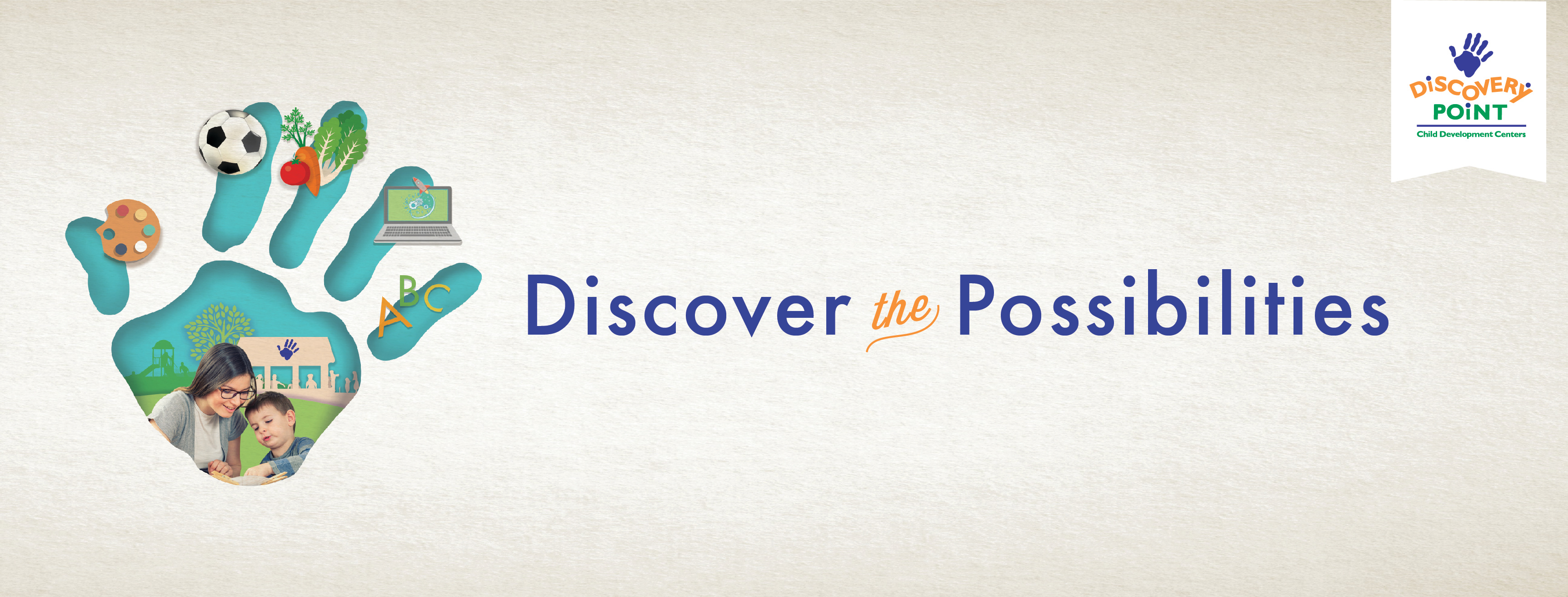 Discover the Possibilities campaign desi