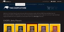 Chops snacks website