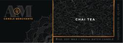 Chai Tea Candle Label