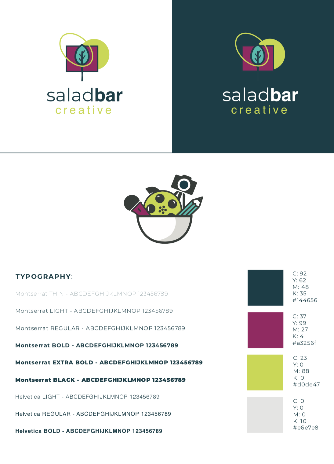 SaladBar Brand Guide