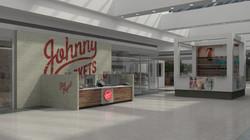 Kiosk 3D graphics for JR in-mall