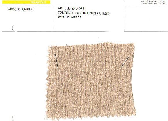 Cotton Linen Kringle