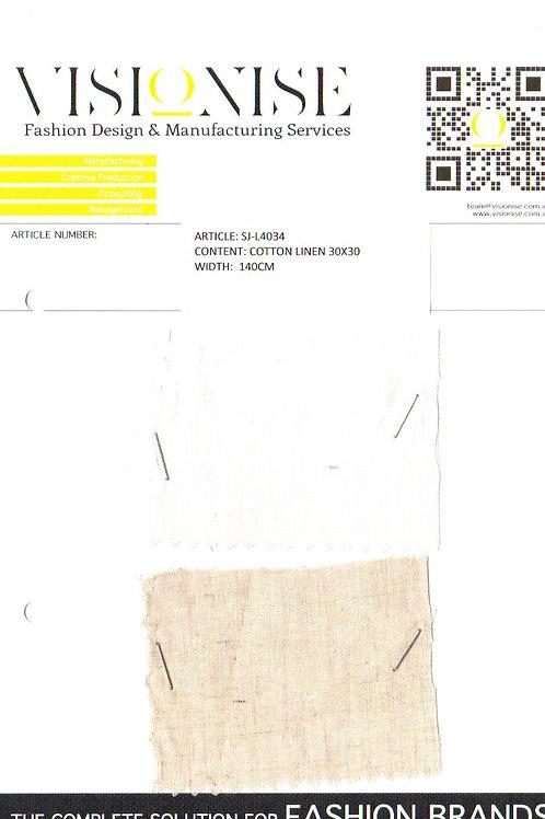 Cotton Linen 30x30