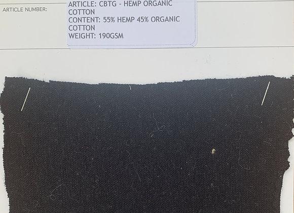 55% HEMP 45% ORGANIC COTTON