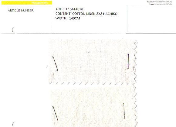 Cotton Linen 8x8 Hachiko