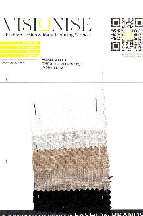 100% Linen 14x14