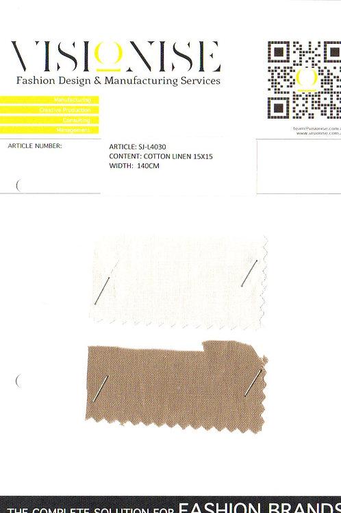 Cotton Linen 15x15