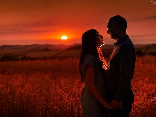 Anna & Tadeusz w promieniach słoneczka