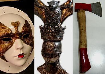 En Gadget Efectos Especiales creamos props, ficticios, atrezzo especial, replicas de objetos en una gran variedad de materiales