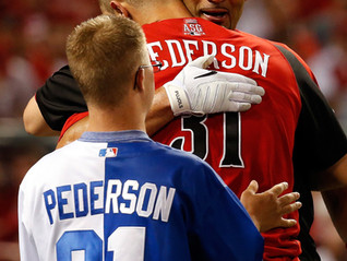 Champ Pederson and Albert Pujols gave us the Home Run Derby's most heartwarming moment