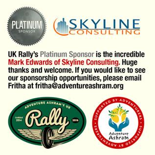 UK Rally 2016 Platinum Sponsor Announced