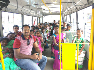 Stories From The Field. The children take a day trip!