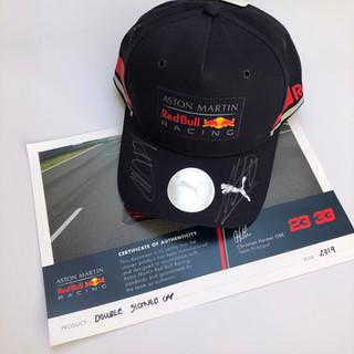 Signed Aston Martin Red Bull Racing F1 Cap
