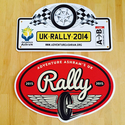2014 and 2015 Rally Plate Deal!