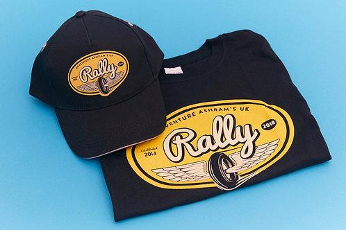 2018 UK Rally T-shirt and Cap