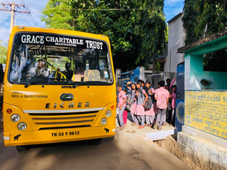 Stories From The Field:  It's a new term for the children from the Mudumalai Tiger Reserve!