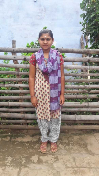 Stories From The Field. Say hello once again to Renuga one of the young people from our child sponso