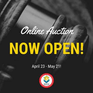Online Auction is now OPEN!!