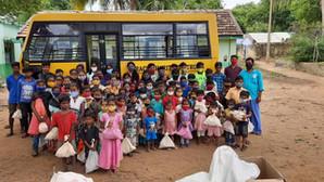 Progress update: food packs delivered to 300 children