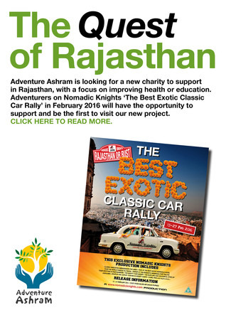 We're searching for a Charity to Support in Rajasthan.