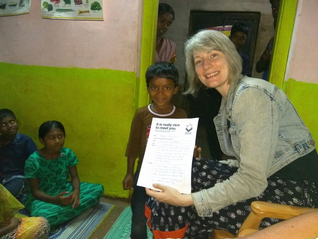 Send a letter to your sponsored child.  They will absolutely love it.