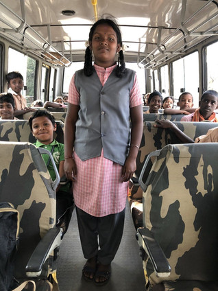 Stories From The Field. Meet Nivedha, one of the children from our Education Sponsorship Programme.