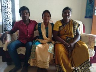 Stories from the Field - meet Preethi, one of our sponsored children and family!