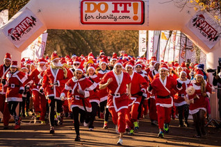 Fun for All: The 2019 Santa Run!