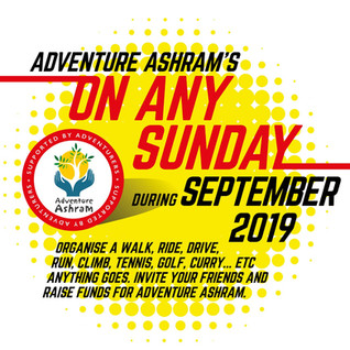 'ON ANY SUNDAY'. We Invite You For a Spot of Fundraising This September...