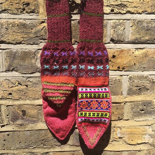 Fuchsia Feet
