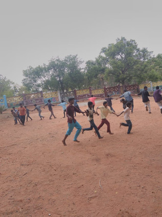 STORIES FROM THE FIELD. The Odanadi Boys' Safe House Summer Camp.