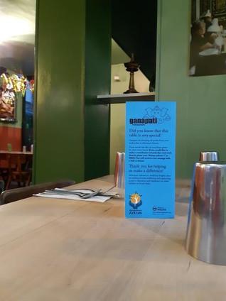 An Adventure Ashram Shoutout for Ganapati Restaurant, Peckham, London.