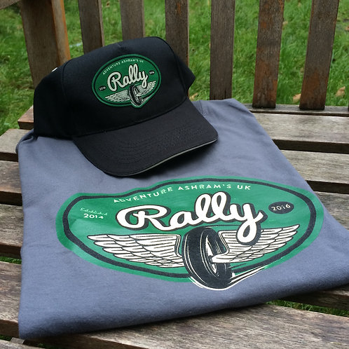 UK Rally t-shirt & cap combo