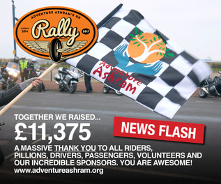 NEWS FLASH.  2017 UK Car and Bike Rally announcement...
