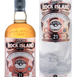 Rock Island 21 Years Old Bottle and Tube