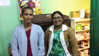 STORIES FROM THE FIELD. Meet Seline And Maheshwari-nurses from our Health Care Programme.