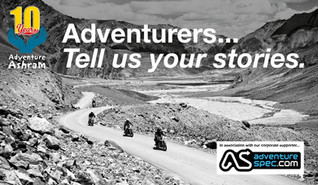 To celebrate 10 years of Adventure Ashram we have proudly launched our 100 Adventure Stories Crowdfu