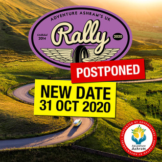 New Date for The Adventure Ashram UK Rally