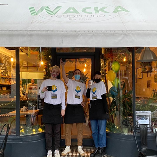 Adventure Ashram partner with Wacka Espresso!
