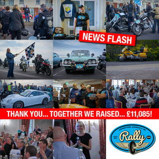 We are thrilled and excited to announce that the Adventure Ashram 2019 UK Car and Bike Rally raised.