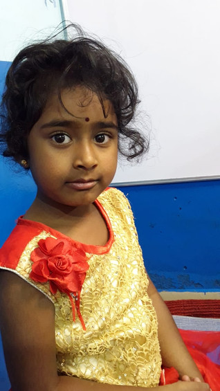 STORIES FROM THE FIELD. Meet Sanjana, one of the children from our Accessible Health Care Programme.