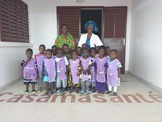 Les maternelles de l'école de CAP 2