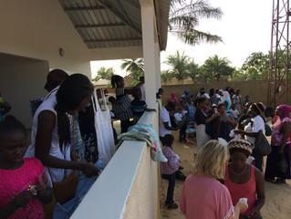 Grand succès pour la Braderie Casamasanté à Cap Skirring !