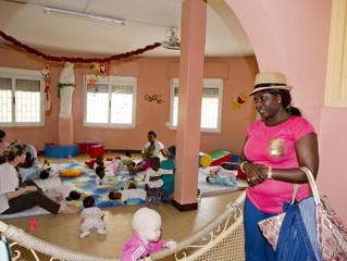 Visite de la pouponnière de Dakar