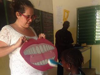 A l'école de CAP 2 aussi on brosse et on sourit:-)
