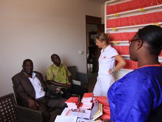 Mardi 6 juin, rencontre avec l'IEF d'Oussouye