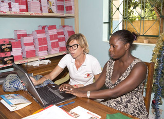 Séance de travail avec Mariama l'infirmière
