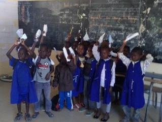 Médecine scolaire au village de Boucotte Diola