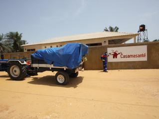 Ramassage des ordures au Poste Casamasanté !